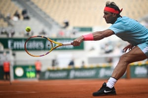 1 French Open Serena Williams Pulls Out Rafael Nadal Goes Through Live Sport The Guardian