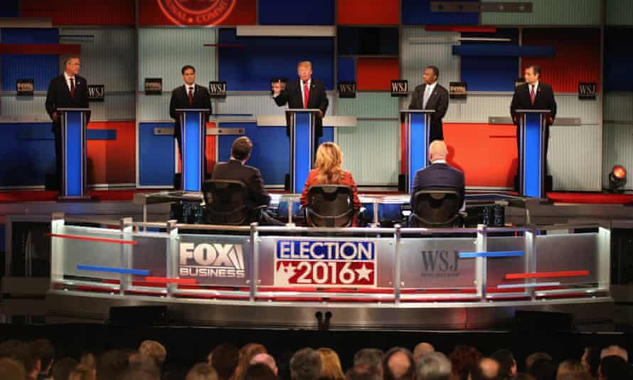 The Republican Presidential Debate sponsored by Fox Business and the Wall Street Journal on 10 November 2015 in Milwaukee, Wisconsin.