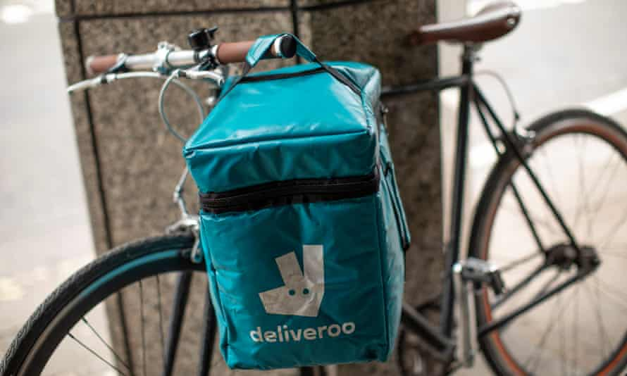 Deliveroo bicycle