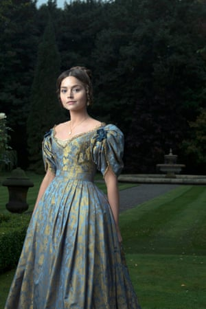 Jenna Coleman as Queen Victoria in the ITV drama.