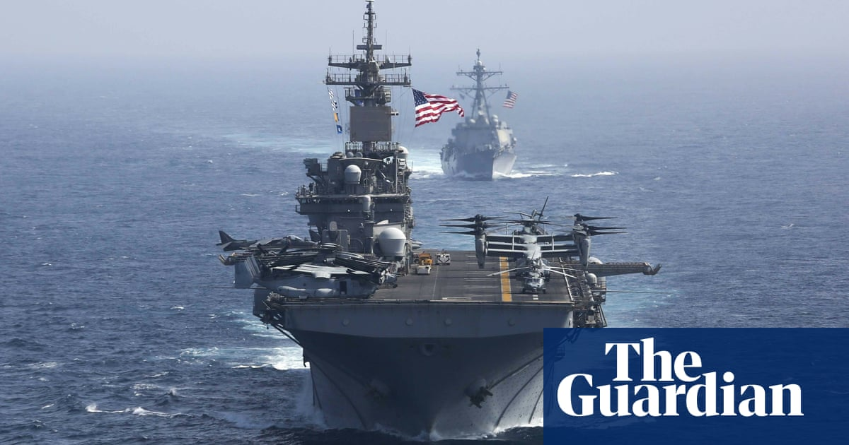 US plans coalition of military allies to patrol waters off