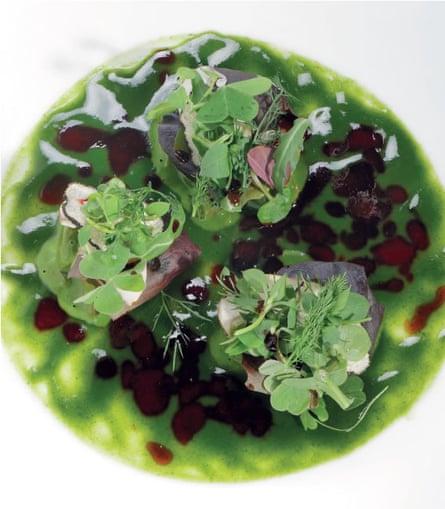 A dish from Osteria Francescana.