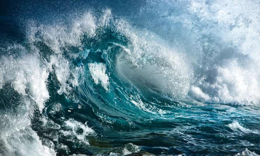 Auditioning to be a paradigm? An ocean wave.