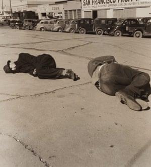 Modesto Skid Row, 1937.