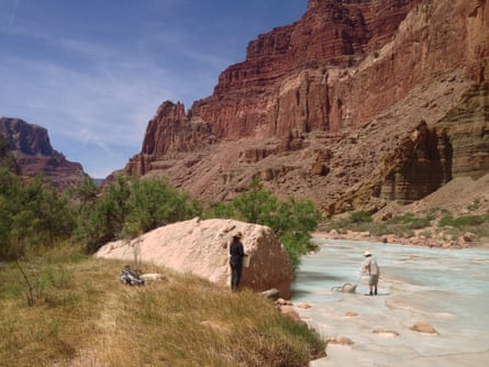 People on Little Colorado River