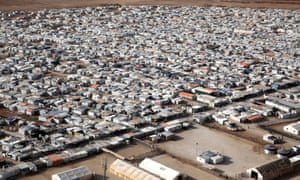 We usually see Zaatari in aerial shots on the news, used to show the scale of the Syrian refugee crisis.