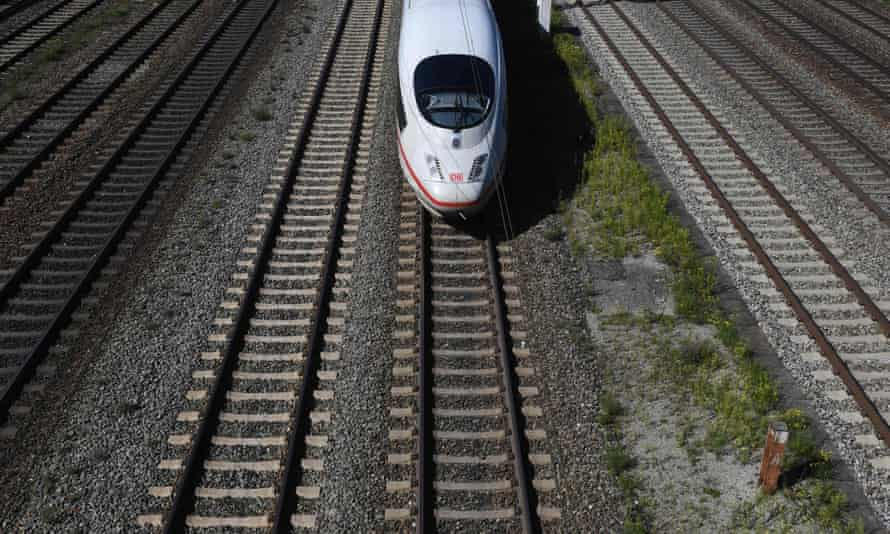 Sex on railroad tracks