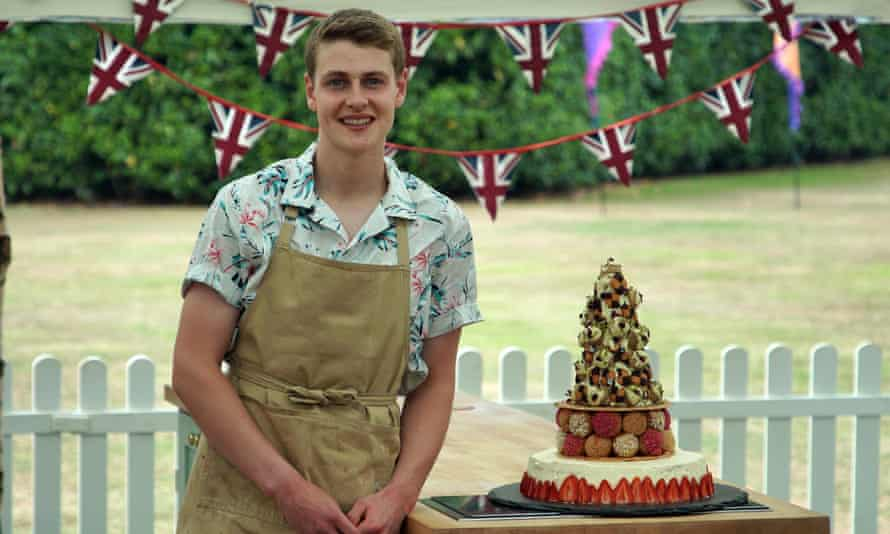 The Great British Bake Off 2020 winner, Peter Sawkins.
