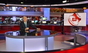 BBC's Six o'clock News set.