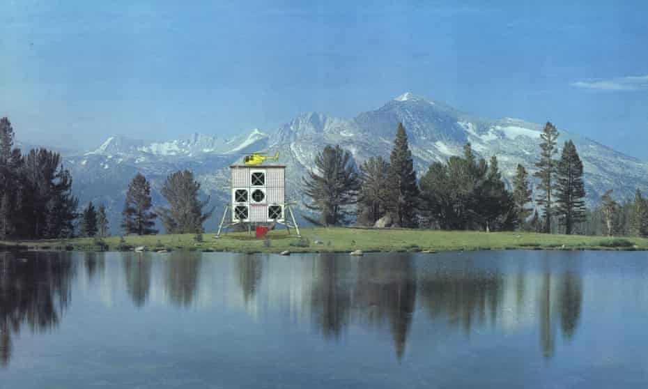 House for a Helicopter Pilot, 1979, by Jan Kaplický of Future Systems.