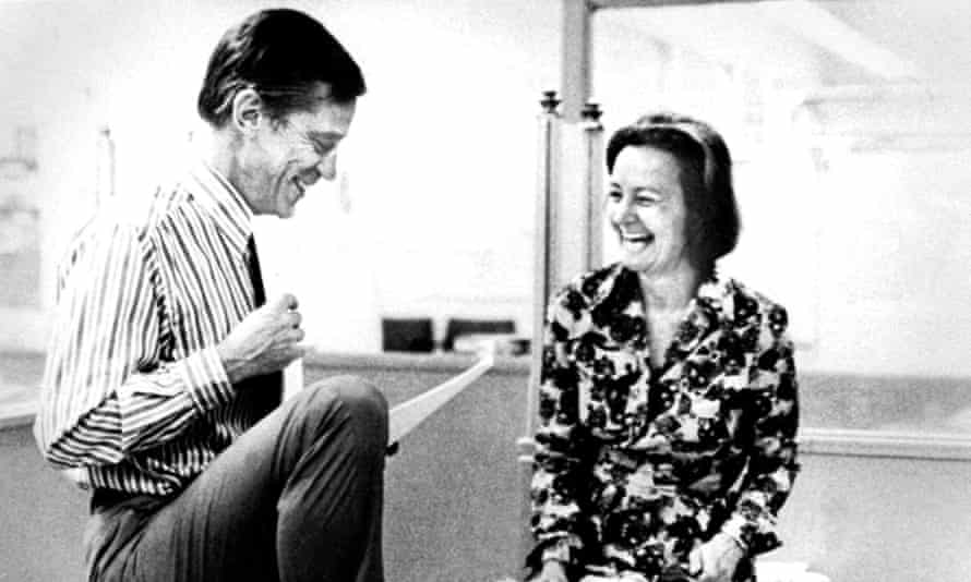The Washington Post executive editor, Ben Bradlee, with the chairman of Washington Post Company for two decades, Katherine Graham, in 1971.
