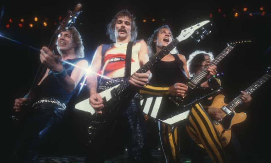 Scorpions, c1970.