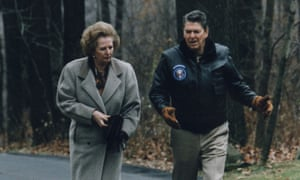 Reagan and Thatcher in 1986.