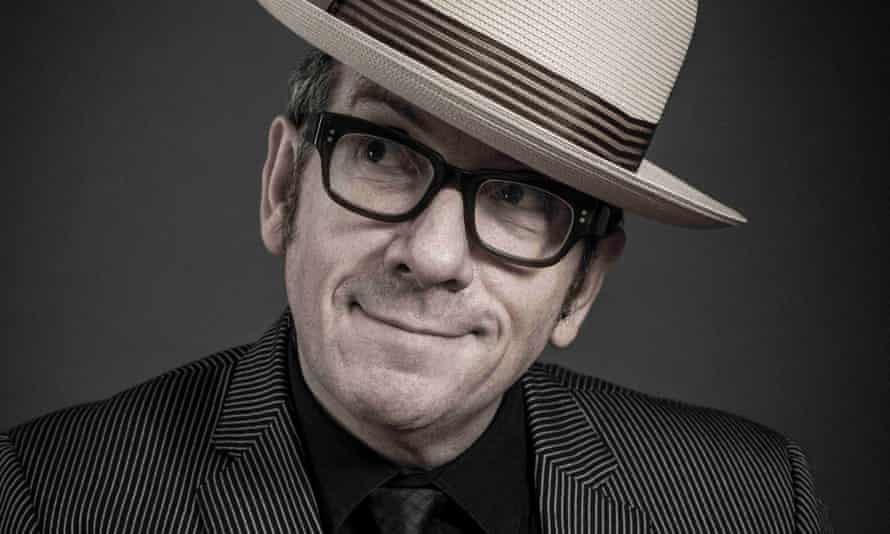 Architectural high notes … Elvis Costello