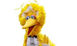 Big Bird at the Emmy's