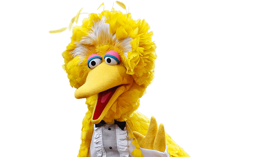 Big Bird at the Emmy's