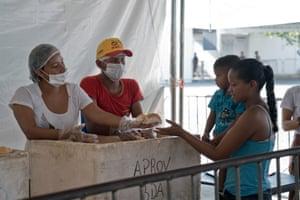 Rondon 1 Boa Vista shelter for Venezuelan migrants in Brazil