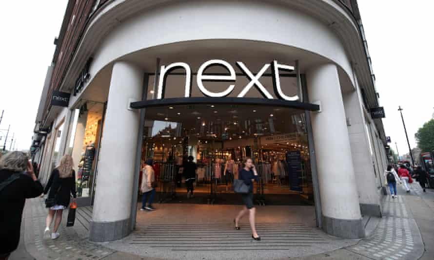 Next shop exterior