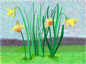 Do remember they can't cancel the spring by David Hockney.