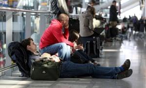 Travel disruption at Heathrow.