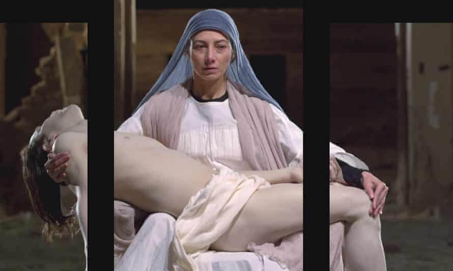 A still from Mary, 2016, by Bill Viola; Executive Producer, Kira Perov, which will be inaugurated in the cathedral on 8 September.