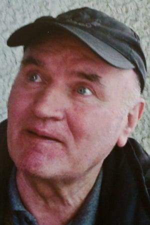 Mladić in Belgrade after his 2011 arrest.
