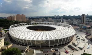 Kiev's Olimpyskiy Stadium, which hosted the Champions League final in May, is the new venue for Arsenal's away game against Vorskla.