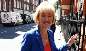 Andrea Leadsom, whose old job title may have led to 'misapprehensions'.