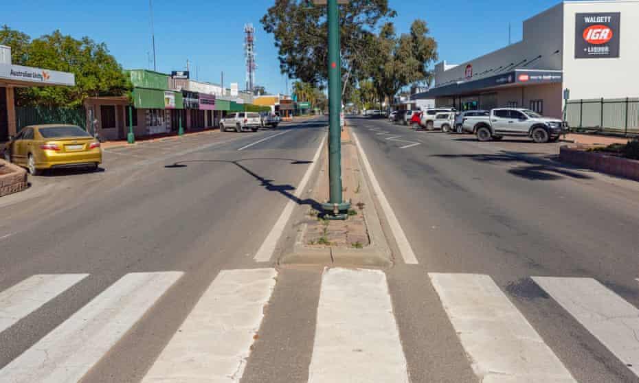 Walgett in western New South Wales, Australia