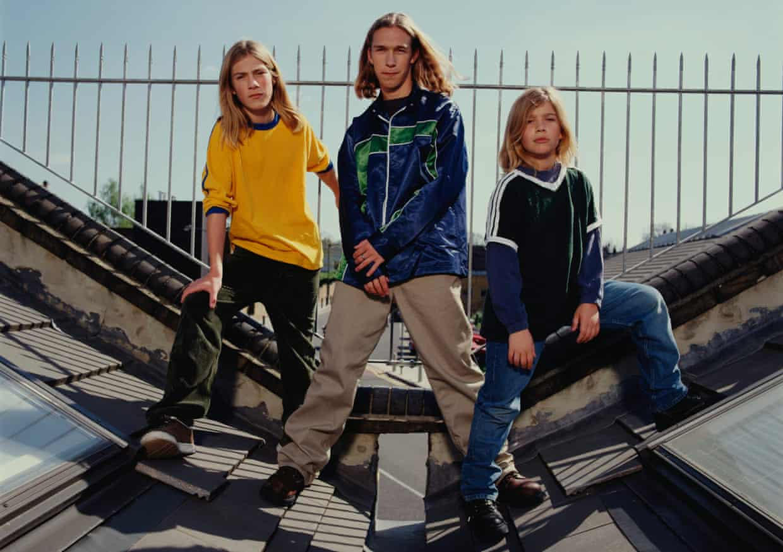 Infuriating Jon Bon Jovi … Taylor, Isaac and Zac Hanson in 1997.