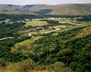 His project photographing the cuckoo's habitat took him from the fringes of the Bateke Plateau ...
