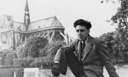 Daniel Cordier portrayed in Paris in 1945