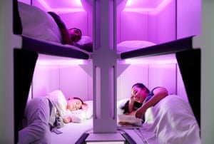 The proposed Air NZ 'Skynest' sleep pods.