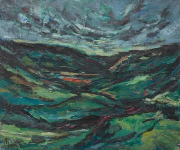 Leslie Marr's Tenga Mull, 1986, oil on canvas