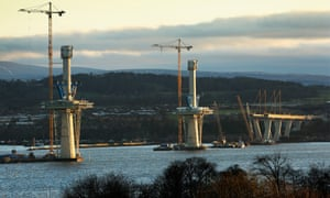 The third Forth bridge, Scotland's biggest transport infrastructure project in a generation