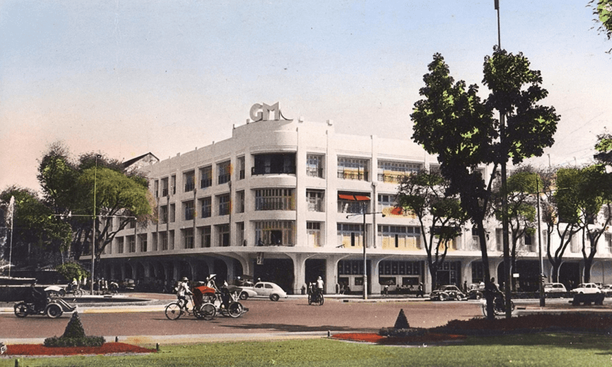The former Charner department store (later the Saigon Tax Trade Centre) was knocked down in 2016 to allow construction of the city's long-delayed metro system