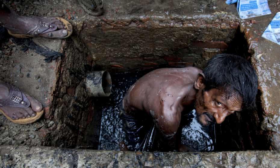 Sewer cleaner Dhaka