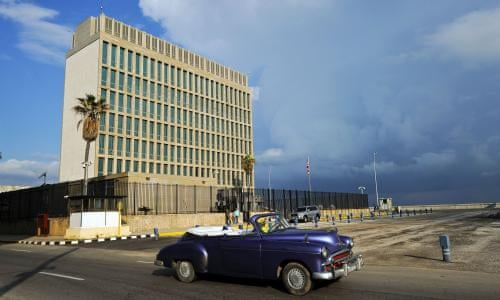 Mystery of sonic weapon attacks at US embassy in Cuba