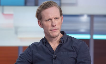 'This is why you don't get actors involved in chats like this' ... Laurence Fox. Photograph: Ken McKay/ITV/Rex/Shutterstock