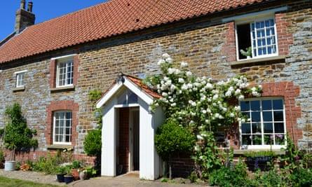 Farmhouse at Ryedale Vineyards, North Yorkshire.
