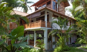Masterclass attendees will be staying in this beautiful Balinese house.