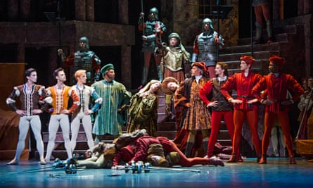 The Royal Ballet perform Romeo and Juliet in 2015.