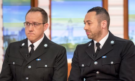 Two cops on TV