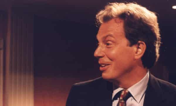 Tony Blair in 1995.