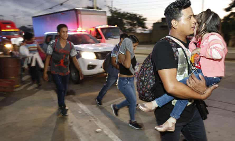 Yet another caravan of Central American migrants sets out overnight from Honduras, seeking to reach the US border.