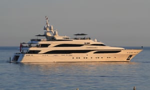 Lionheart … Fortunately, Philip Green has two other yachts: Lioness and Lionchase.