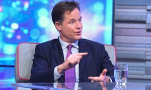 Nick Clegg on ITV's Peston show.
