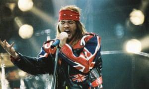 Guns N' Roses rock Wembley – archive, 15 June 1992 | Music