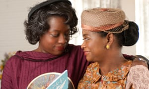 With Octavia Spencer in The Help.