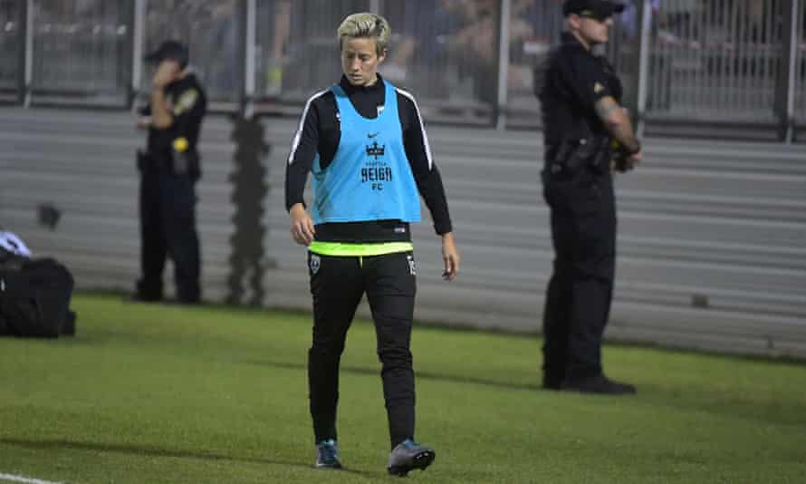 Megan Rapinoe: 'I can sleep at night knowing that I genuinely tried to have a really important conversation, or at least tried to open it up.'